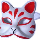 Omen ,Mask of  Fox for Ivent Kosupure,Costume Handmade REDJapan FreeShipping!
