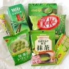 Kitkat Matcha set Chocolate tea Nestle Meiji Glico Pocky Assorted from JAPAN
