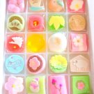 Maiko KYOGASHI Candy Jelly Sugar Confectionery Japanese Sweets from Kyoto Japan