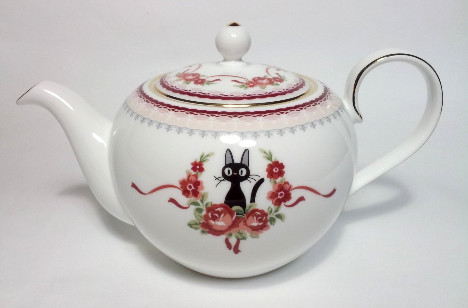 Kiki's Delivery Service x Noritake BONECHINA Tea pot JAPAN jiji Studio GhibliNEW