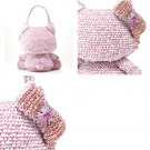 NEW Hello Kitty x ANTEPRIMA Shoulder Bag Small Silver pink Wire bag JAPAN F/S