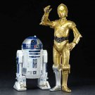 KOTOBUKIYA 1/10 ARTFX+ Star Wars R2-D2 & C-3PO PVC Figure Painted assembly kit