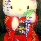 SANRIO Maiko Kimono Hello Kitty stuffed Plush Doll,Geisha Doll Very Rare F/S NEW