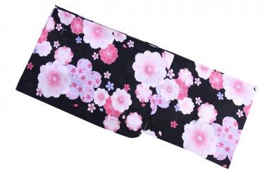 SAKURA Pink Yukata Set Summer Kimono Dress Maiko M Girls Lobe Kyoto JAPAN NEWF/S