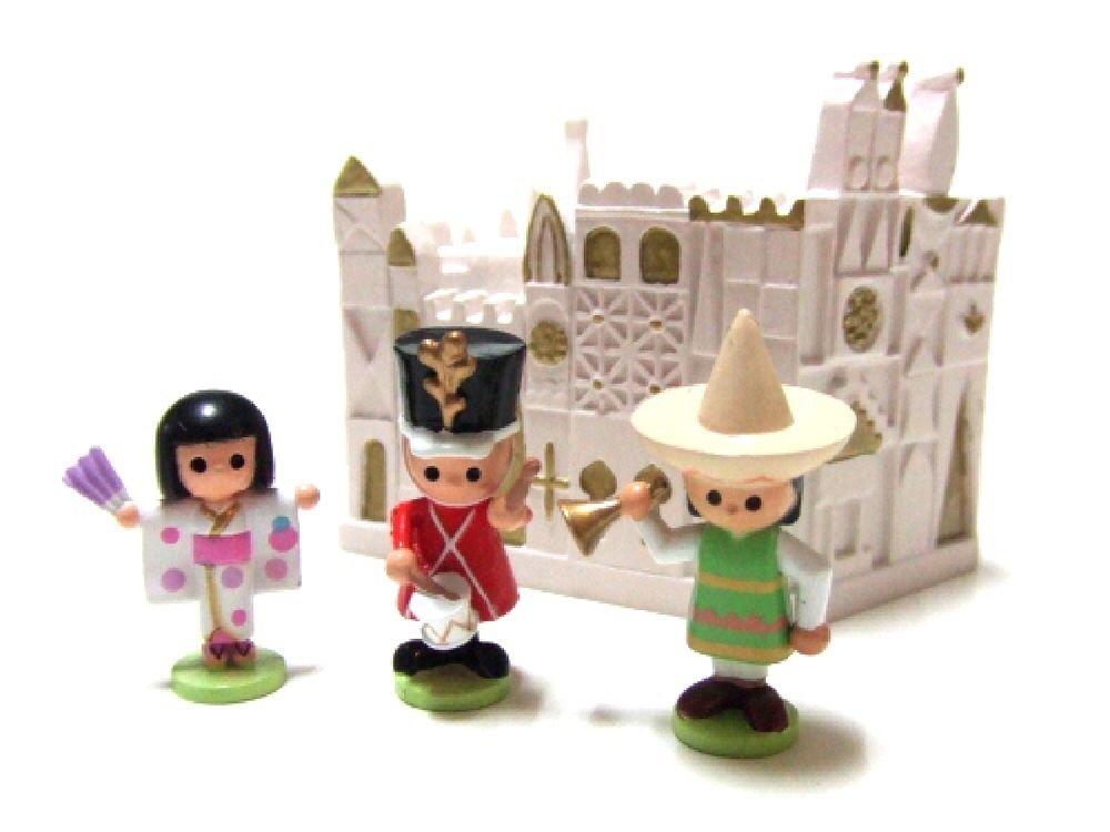 It's a small world US My Disneyland Diorama Model Miniature DeAGOSTINI NEW