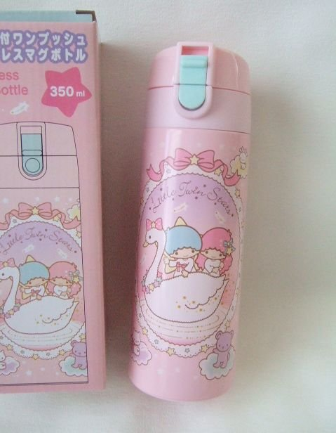 Little Twin Stars Hot & Cool Stainless Bottle SANRIO NEW