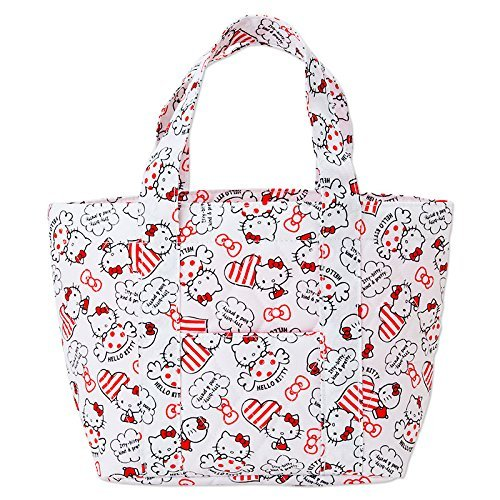 Sanrio Japan Hello Kitty Kitchen 2 Way Cool Keeping Tote Bag  NEW  F/S