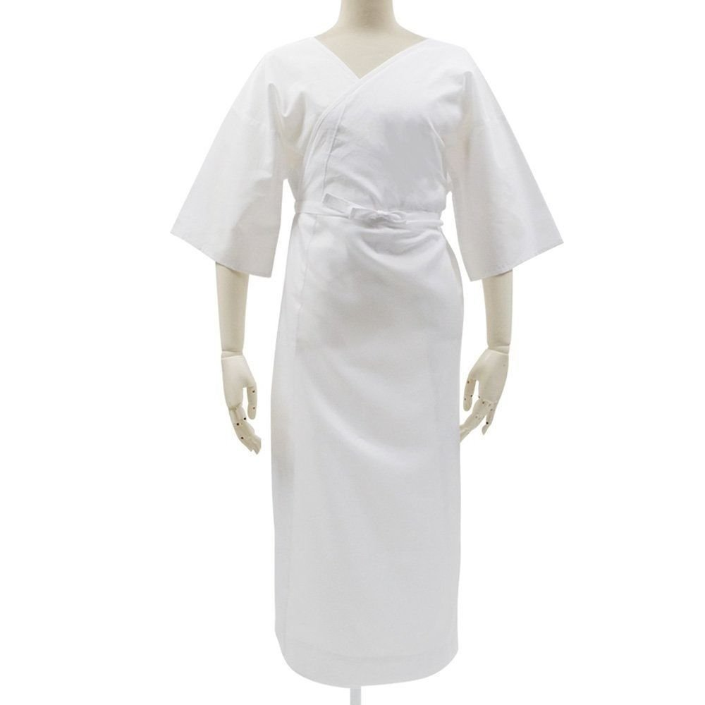 Washable Hadajuban kimono Underwear slip Cotton&Polyester white dress RegularMFS