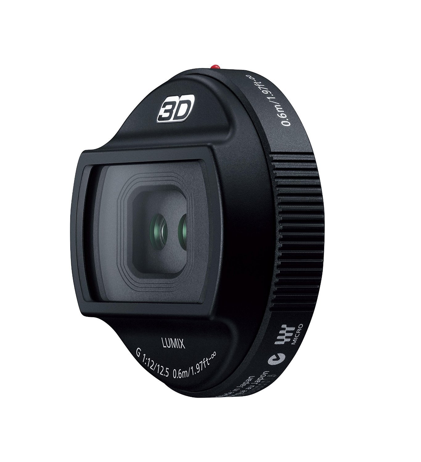 Panasonic 12.5mm F12 Single-Focus 3D Lens G H-FT012 for Micro Four Thirds
