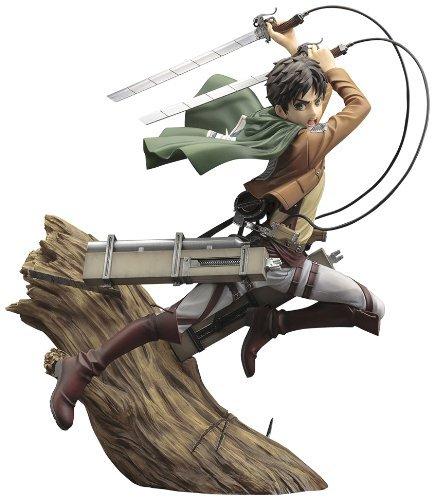 Eren Yeager Attack on Titan 1/8 PVC figure Kotobukiya ARTFX J Japan import New