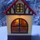 Rare! HELLO KITTY Action Doll Retro House Room Lamp light figure Japan PlushF/S
