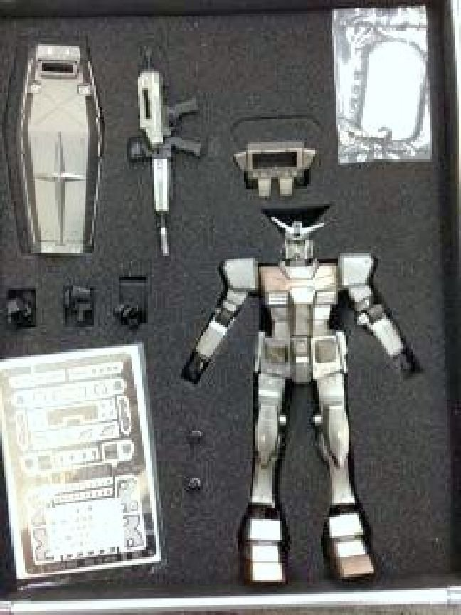 Rare! Genuie RX-78 Gundam Metal Grade Bandai 1/100 Finished Product Japan NEWF/S