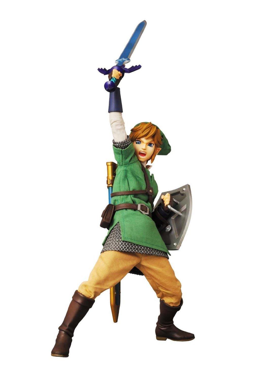 Link The Legend of Zelda Skyward Sword RAH 622 Medicom Toy Japan import New FS