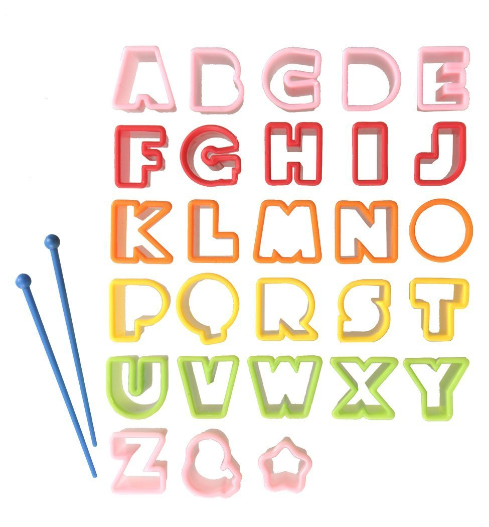 New Alphabet Mold Cutter for Cooking Bento Lunch Accessories from Japan