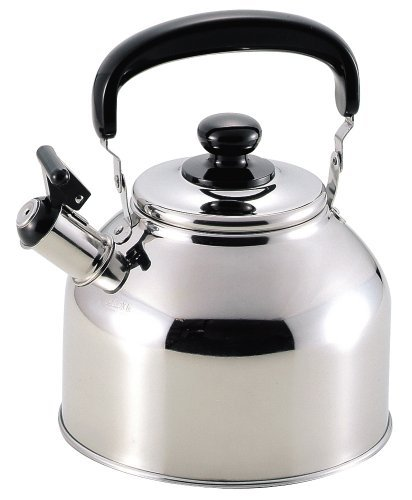 New Daytona Stainless steel Wide-mouth Whistle Kettle 3.7L H-1739 From JAPAN