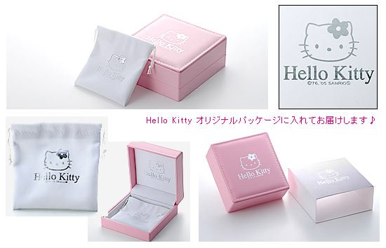 Hello Kitty Amethyst Jewelry pendant necklace Jewelry from Japan SANRIO NEW F/S