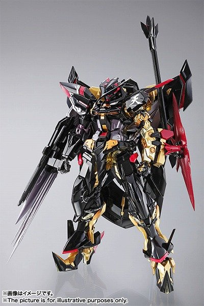 METAL BUILD Gundam Gold Frame SEED DESTINY ASTRAY Amatsu Action Figure BandaiF/S