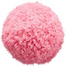 Mocoro Robotic Fur Ball Vacuum Cleaner Rolls around room cleaning Pink version