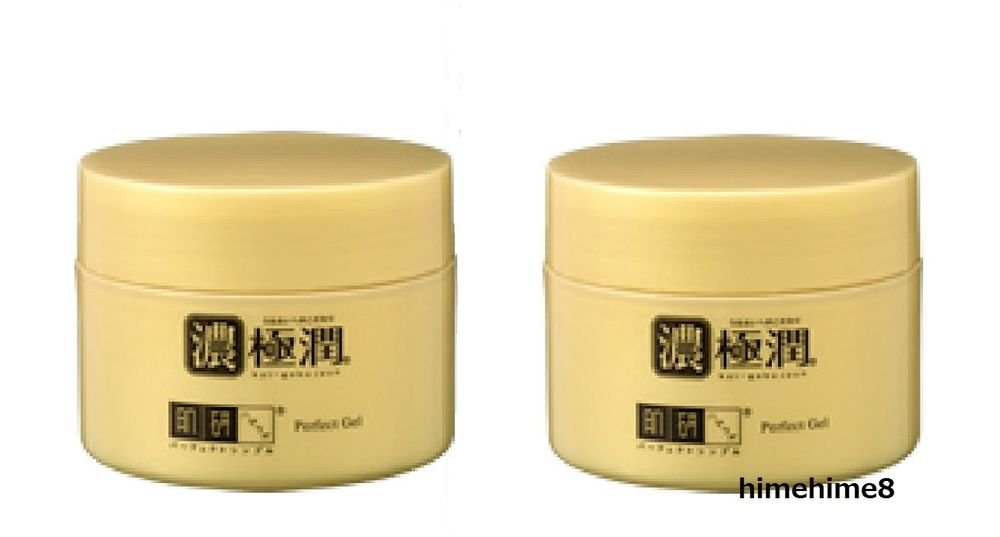 Rohto Hada Labo Koi Gokujyun Perfect Gel Hyaluronicacid Cream 100g x2 SetFacial