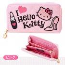 Sanrio Japan Hello Kitty length wallet Love PINK
