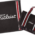 Titleist Japan Golf JAPAN Hand Towel & Tote Bag Set Gift Box Black AJGF43
