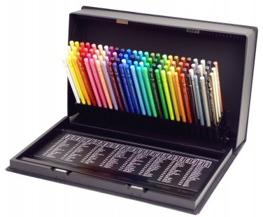 Brand New Mitsubishi Pencil Uni Colored Pencils 100 Colors Set