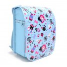 New Japanese Backpack Randoseru Cover Light Blue Argyle & Priness Kitty N4126000