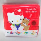 1986 VINTAGE! Rare! HELLO KITTY Retro Wallet, Purse RED SANRIO JAPAN LIMITED NEW