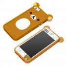 Rilakkuma iPhone 5/5s Case Helix PGA YY00410 San-X Starting TPU Bumper Set Japan