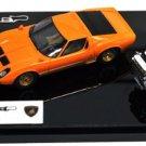EIDOLON 1/43 Lamborghini Miura P400 1967 V12 engine with Orange /Gold Makeup NEW