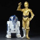 KOTOBUKIYA Star Wars 1/10 ARTFX+ R2-D2 & C-3PO PVC Figure Painted assembly kitFS