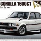 Aoshima 08744 TE71 Toyota Corolla 1600GT Sedan Early Ver. 1/24 scale kit 8300874