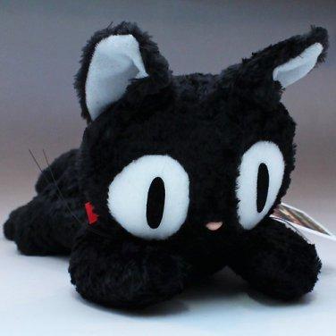 "Jiji kutakuta plush doll Studio Ghibli Kiki Delivery Service M 6379  11"" 30cm FS"