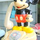 Vintage! 1981 Disney Japan limited Original Mickey Mouse telephone Dial-up F/S