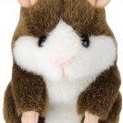 TAKARA TOMY Mimicry Pet Hamstar Cappuccino Brown Talking Plush Toy Pets speakNEW