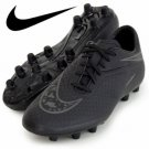 Nike Football Soccer Shoes Hyper Venom Ferron HG-E (Black x Black) 599731-001