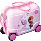 IDES JAPAN Disney Frozen Elsa and Anna Litrolley Pink Case, Bag NEW