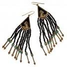 NEW Disney Couture Pocahontas Collection Nine Arrows Pierced Earring Set Black