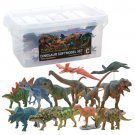 FAVORITE Dinosaur Soft Model Set C 13 figures FDW-103 Brand New