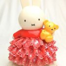 Miffy 60th.Porcelain Ceramic Lace Doll Stuffed JapanLimited Plush FiguresNEW F/S