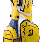New BRIDGESTONE Golf 2015 Active Stand Caddy Bag 10/47inch model CBG553YE Yellow