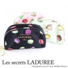 Sucre Laduree Porch Cosmetic bag bluck Macarons Gold Japan Rare 25301809