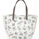 Chip N' Dale Samantha Thavasa Disney Tote Hand Bag Beige JAPAN