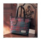 Disney JAPAN Winnie the Pooh tartan plaid tote bag From JAPAN