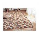 DISNEY Chip & Dale Microfiber Quilt Room Mat Rug Cover Carpet from Japan
