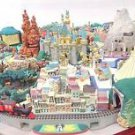 My Disneyland Diorama model kit SET US Miniature Mickey DeAGOSTINI NEW FS Japan