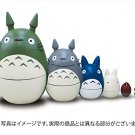 New! Studio Ghibli My Neighbor Totoro Matryoshka Doll Toy Japan F/S anime plush