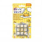 Gudetama check rubber stamp set SANRIO from Japan made in Japan Kawaii NEW