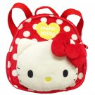 New! Sanrio Kids girls backpack bag Luc Hello Kitty red F/S Japan import kawaii