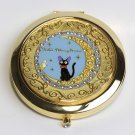 Studio Ghibli Kiki's Delivery Service Jiji compact mirror crescent From JAPAN
